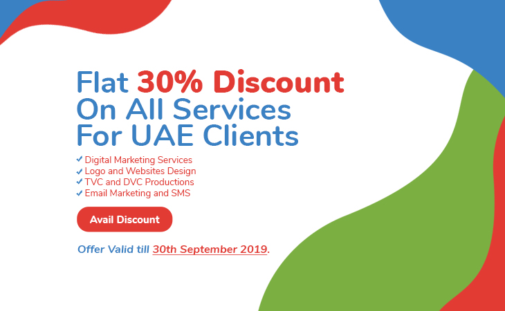 Press Release – Flat 30% Discount on All Services For UAE!